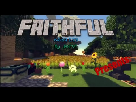 minecraft texture packs faithful 64x64 1.8 download
