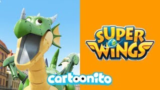 Super Wings | Inside The Dragon | Cartoonito UK