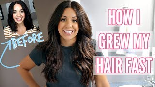 COMPLETE HAIR CARE ROUTINE! HOW I GREW MY HAIR FAST!