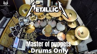 Metallica - Master of Puppets (Drums Only)