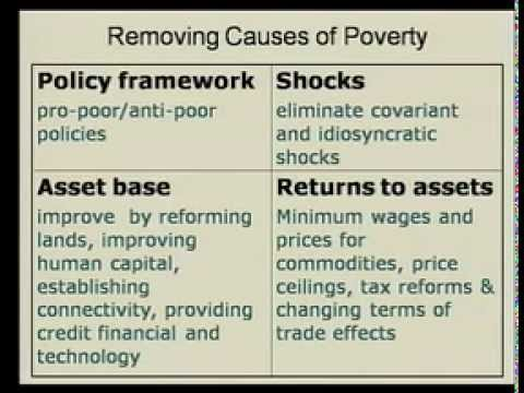 SSU2133 - Development Economics 5 - Poverty Reduction