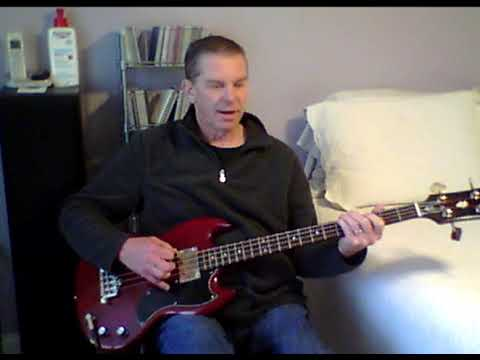 The Brides Have Hit The Glass- bass cover- Guided By Voices mp3