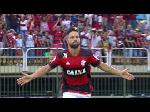 e0591d5eda642 Gol Diego - Flamengo 1 x 0 Vasco- Taça Guanabara - Semifinal - 25 02 ...