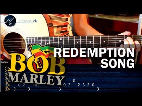 Como tocar Redemption Song - BOB MARLEY - en Guitarra Acustica COMPLETO ...