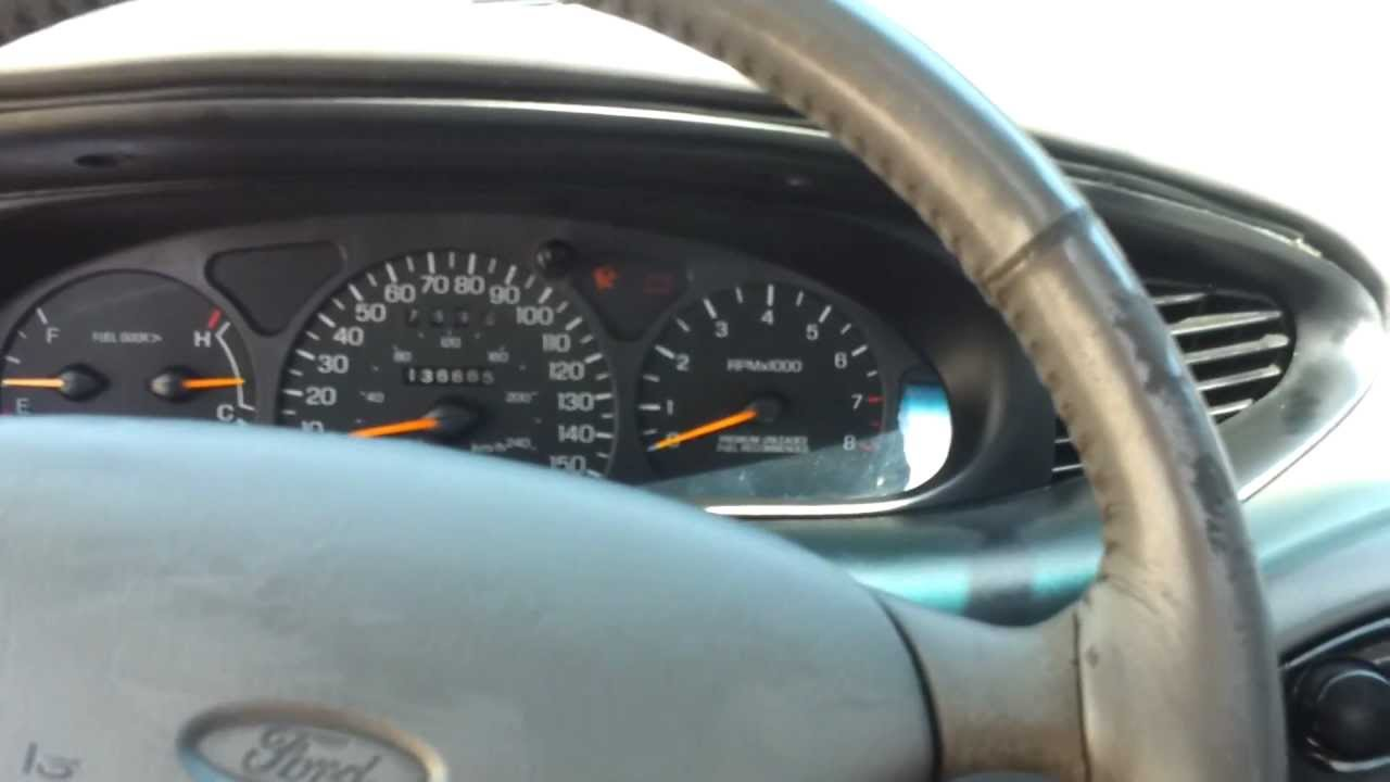 1998 ford taurus sho limited classic car youtube