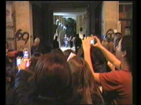 Hanson in italia 03-04-2005 post-concerto Rolling Stone Milano
