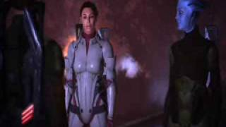 "Mass Effect - Full Renegade Ending: ""Let the Council Die!"""