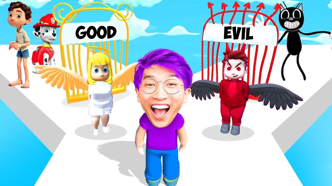 Download NOOB vs PRO vs HACKER In GOOD OR EVIL!? (ALL LEVELS!)