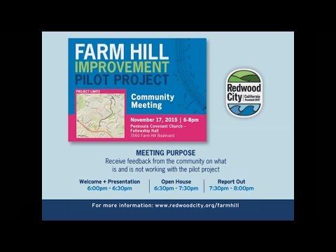Farm Hill Improvment Pilot Project