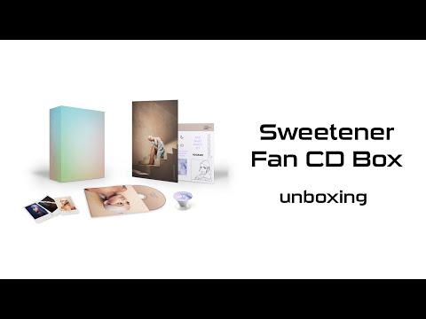 Ariana Grande - Unboxing Sweetener Fan CD Box