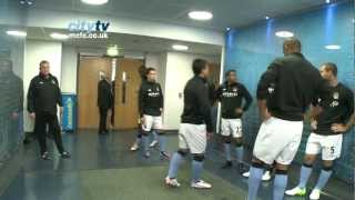 TUNNEL CAM: City v Southampton EPL 12-13