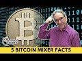 5 Bitcoin Coin Mixer Facts  | 4 Minute Crypto News | 8/9/2018