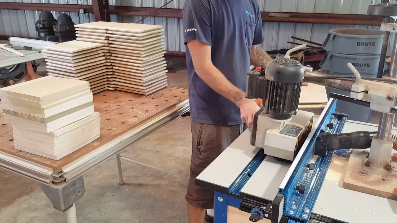 Raised Panels On The Router Table Youtube