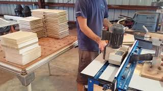 Raised panels on the router table