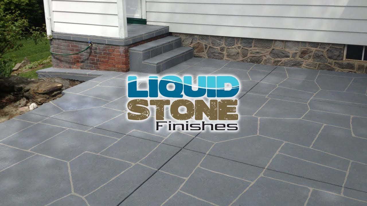 Epoxy Coating Concrete Resurfacing Concrete Restoration Middletown CT By  Liquid Stone Finishes   YouTube