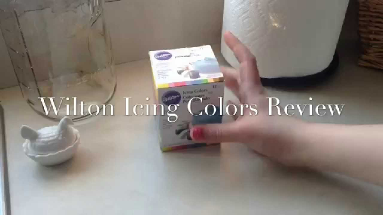 Wilton Icing Colors Review