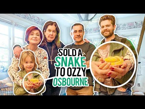 Ozzy Osbourne Bought A Snake From Us