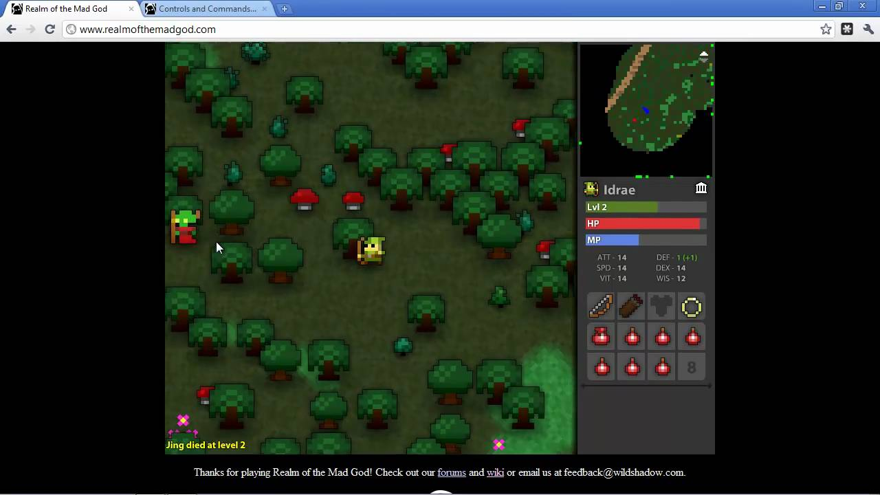 Indie Test Drive Realm Of The Mad God Multiplayer Fantasy Rpg