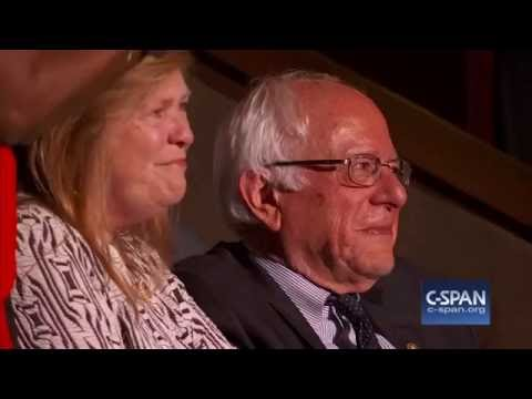 Larry Sanders casts vote for brother Bernie Sanders at Democratic National Convention (C-SPAN)