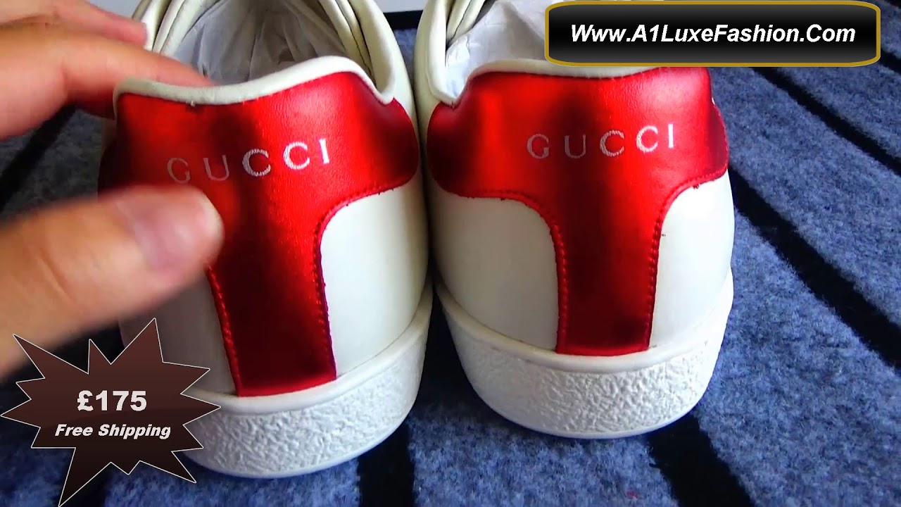 c58dfe31f92 Gucci New Ace Elastic Band Sneakers