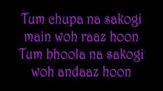 Gambar cover Main Yahan Hoon Lyrics