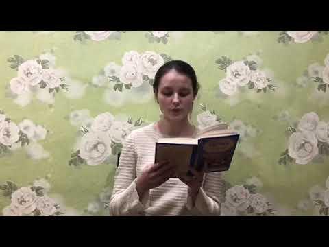 Изображение предпросмотра прочтения – АделяГафурова читает отрывок изпроизведения «Мертвые души Чичиков у Собакевича» Н.В.Гоголя