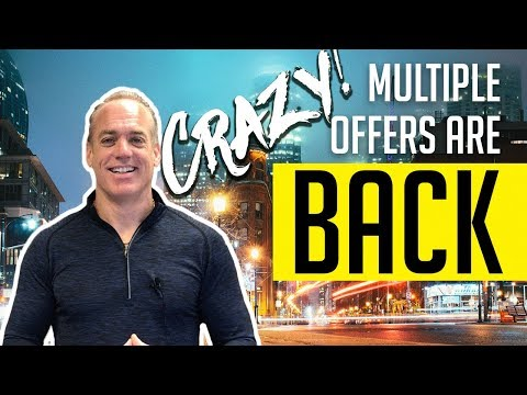 Multiple Offers are Back in Some Areas of the GTHA!