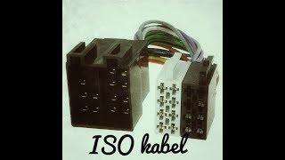 Jak zapojit ISO kabel (konektor)autoradia?