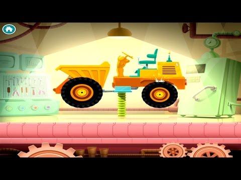 เกมส์ประกอบรถ รถบรรทุกดิน รถแทร็กเตอร์ รถอื่นๆ -truck Builder