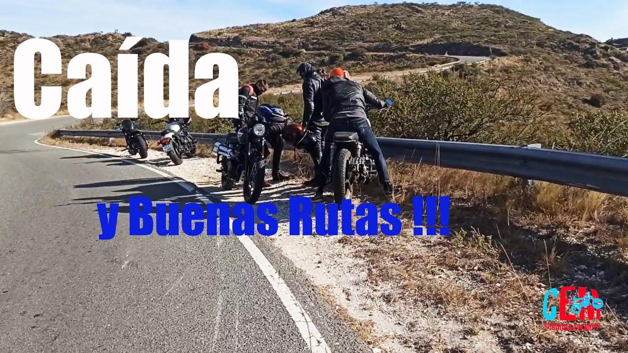 Caída y Buenas Rutas !!! - Córdoba en Moto -