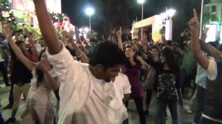 Christian Flash Mob- Red Revival