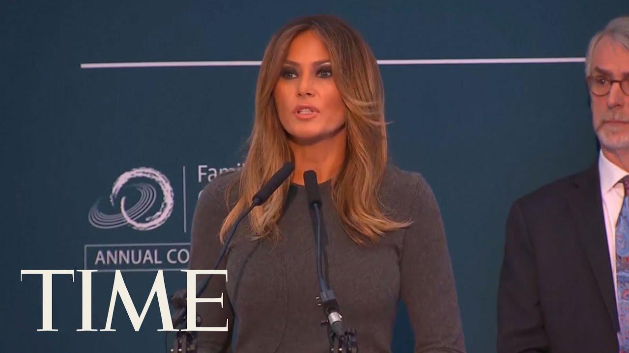 Melania Trump Isn't Surprised People 'Ridicule' Her For Promoting Responsible Online Behavior | TIME