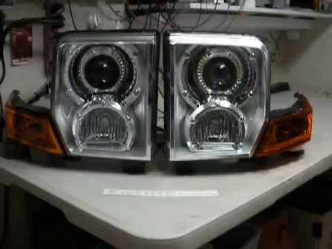 06 10 Jeep Commander 2 55 Watt Hid Bi Xenon Projector Retro Fit By Sick Hids