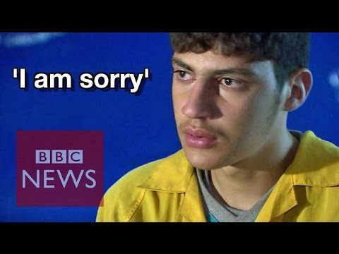 Captured Islamic State suicide bomber: 'I'm so sorry'