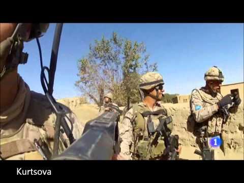Im�genes reales de la Fuerzas Espa�olas en Afganist�n