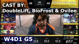 Video FOX vs GGS - Cast by DoubleLift, BioFrost & Ovilee (NALCS Lounge) | Week 4 Day 1 NA LCS Spring 2018 download MP3, 3GP, MP4, WEBM, AVI, FLV Juli 2018