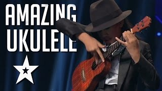 12 Year Old's Amazing Ukulele Playing On Asia's Got Talent | Got Talent Global