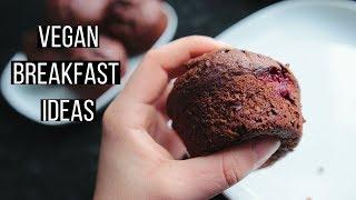Make Ahead Vegan Breakfast Ideas! {easy + healthy}