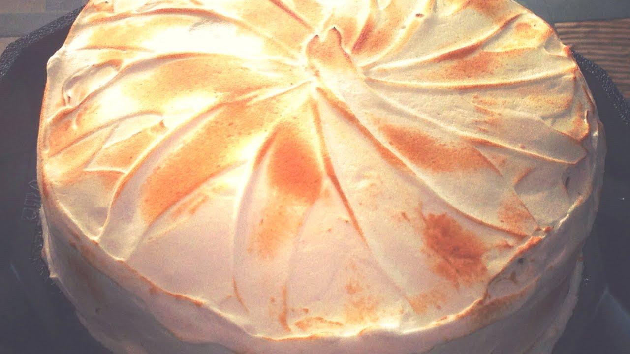 Recette gateau magique citron meringue