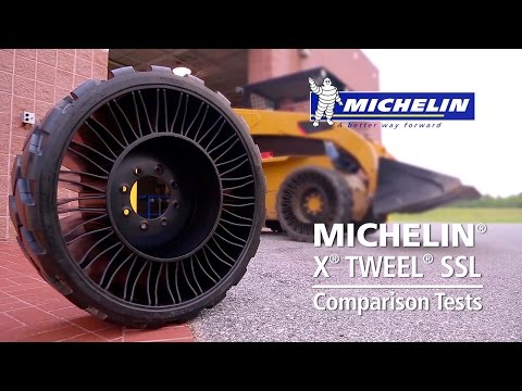 Michelin® X® TWEEL® SSL Comparison Tests