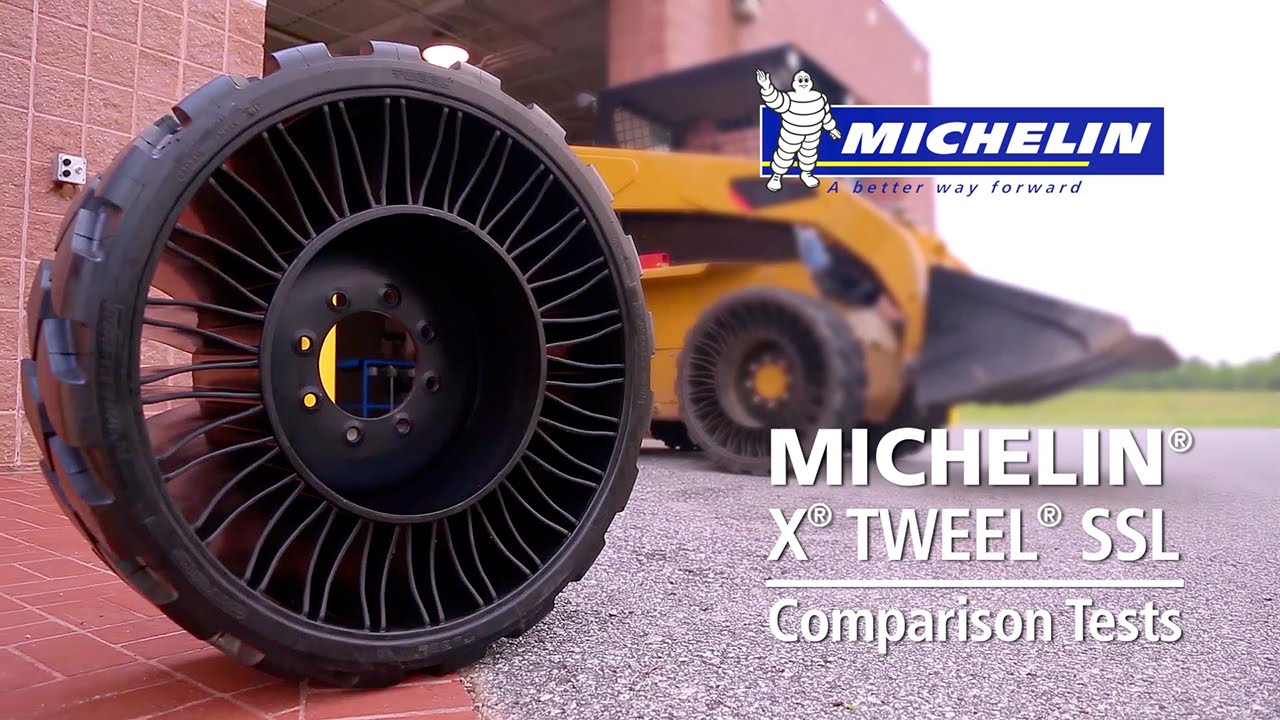 michelin x tweel ssl comparison tests youtube. Black Bedroom Furniture Sets. Home Design Ideas