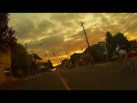 hawthorne blvd. sunset ride - portland, OR