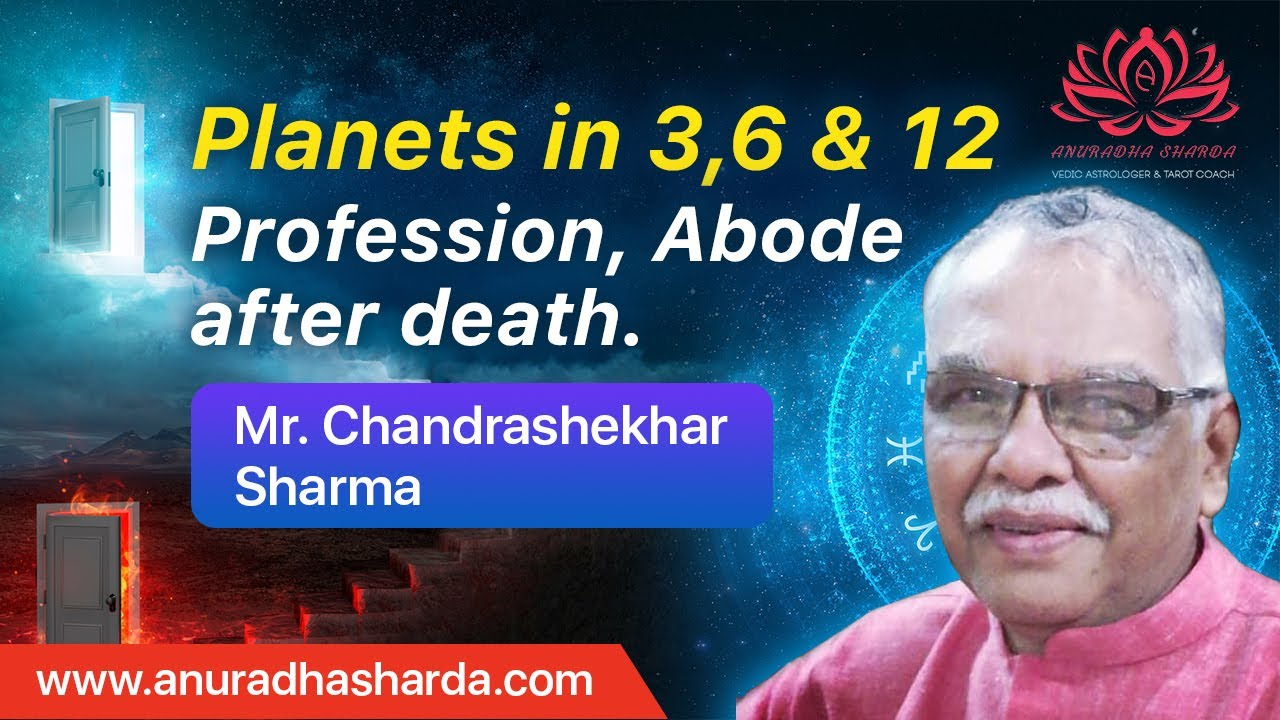 Planets in 3,6 & 12 _Profession, Abode after death | Birth, renunciation |  Swāmsha
