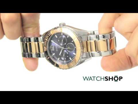 Guess Ladies' Moonstruck Chronograph Watch (W0565L3)