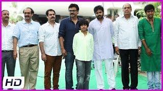 Pawan Kalyan Entry At Gopala Gopala Movie Opening - Venkatesh, Shreya