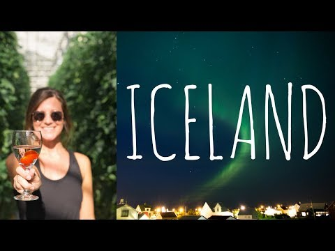 NORTHERN LIGHTS & EATING IN A GREENHOUSE | Iceland Day 4
