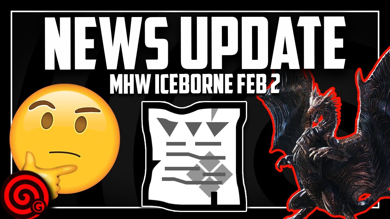 Iceborne News - Feb 2nd 2020 | MHW Iceborne thumbnail