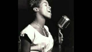 Sarah Vaughan   They can