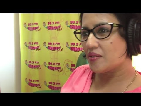 Madhushree At Radio Mirchi | Radio Launch Of
