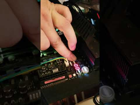 Asus Rog Dominus Extreme Q Code 00 Issue . Start With Finger